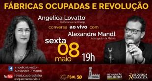 Live: Fábricas Ocupadas e Revolução