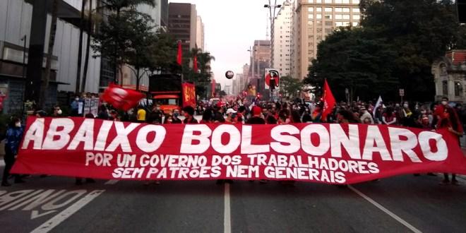 Manifesto do Encontro Nacional de Luta Abaixo o Governo Bolsonaro! Por um Governo dos Trabalhadores sem patrões nem generais!