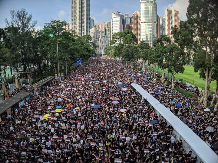 Hong Kong demo dagtid Image Studio Incendo