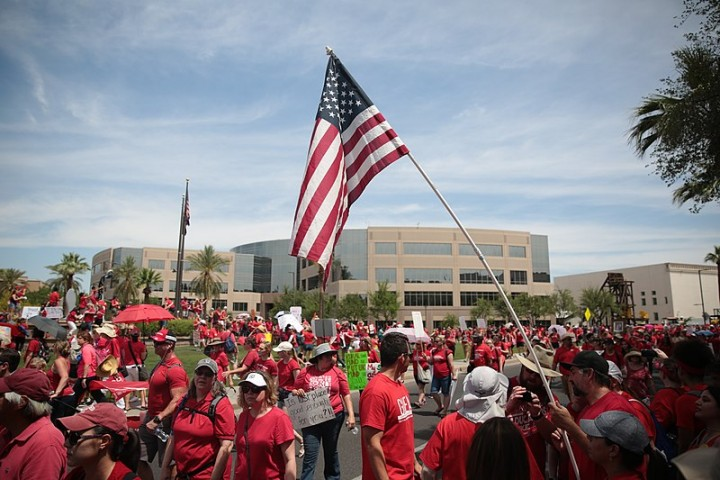 RedForEd Imagen Arizona Education Association