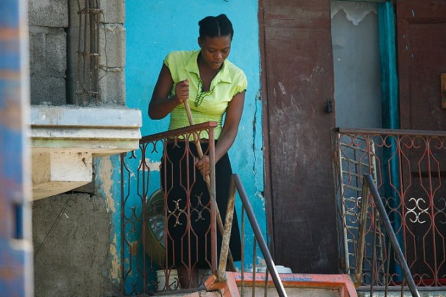Haitian Domestic Work Image Alex Proimos