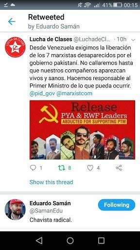 Lucha de clases pakistan
