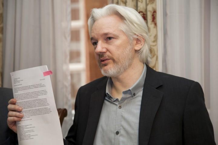 Assange Image Cancillería Ecuador