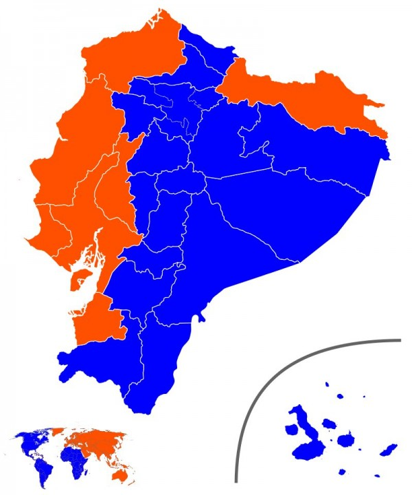 Votos Presidente por Provincia Ecuador image david cs