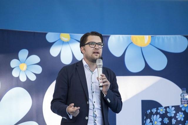 Jimmie Åkesson Image Per Pettersson