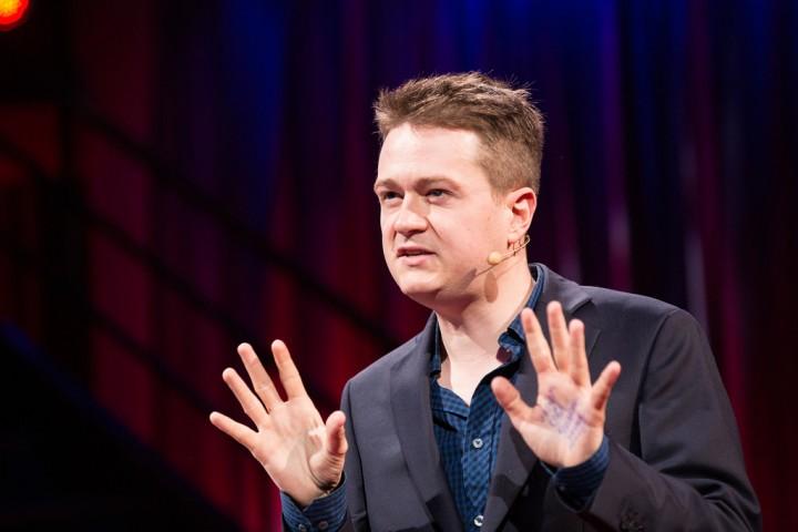 Johann Hari Image TED