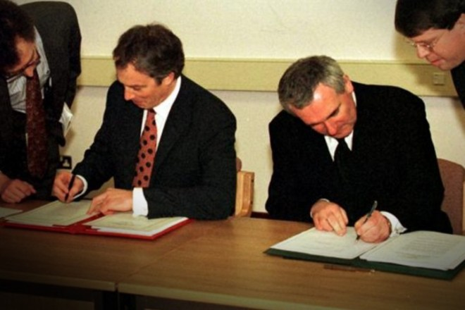 Good Friday Agreement Image public domain