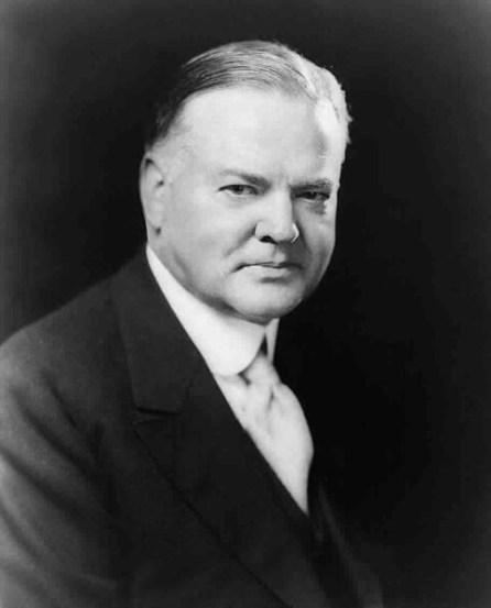 Herbert Hoover Image public domain