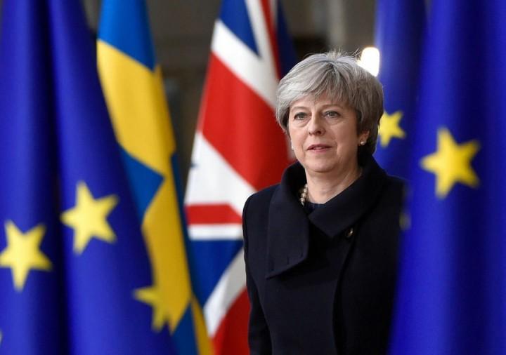 Theresa May Brexit showdown Image Tiocfaidh