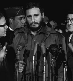 Fidel Castro Washington 1959 - Public Domain