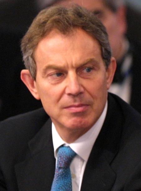 Tony Blair Image Public Domain