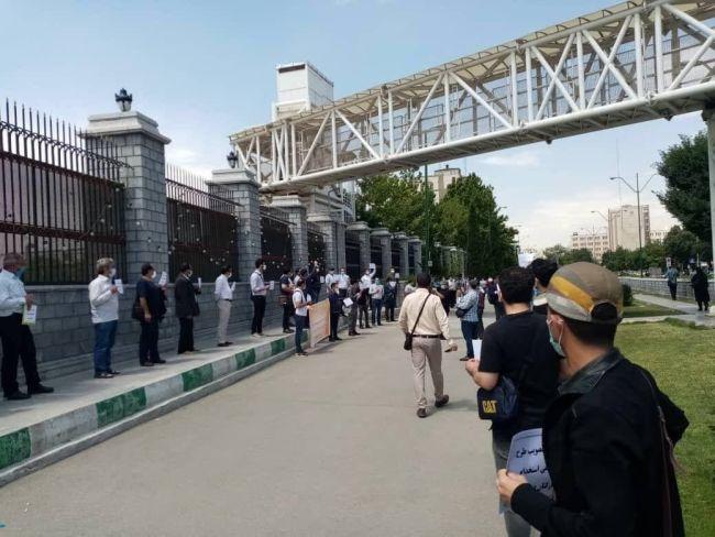 Iran strikes and protests Image irankargar