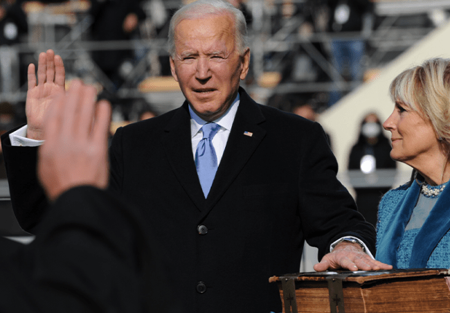 Biden Image Joint Congressional Committee on Inaugural Ceremonies