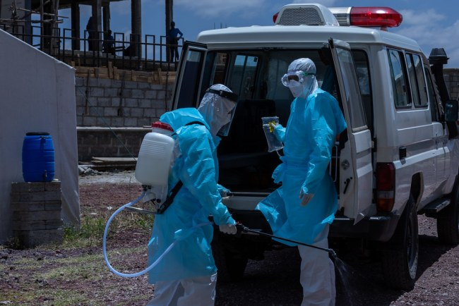 disinfect image UNICEF Ethiopia