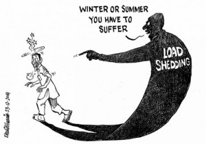 pakistan loadshedding cartoon