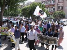 ملتان: ینگ ڈاکٹرزایسوسی ایشن ملتان کااحتجاجی دھرنا