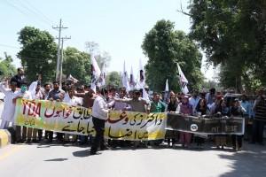 YDA Multan Protest 03