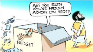 Budget cartoon