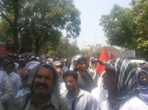 Lahore-Wapda Hydro Union Protest for Pay Raise 04