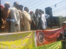 Lahore-Wapda Hydro Union Protest for Pay Raise 09