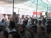 فیصل آباد میں یوم مئی کی تقریبات