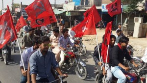 May Day Rally In Lodhran by Red Workers Front 07