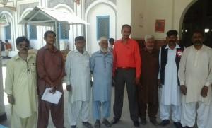 May day at Multan Railway Station