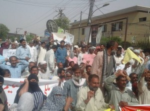 Multan Teachers Protest 04