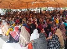 لاہور: PRSP کے برطرف ملازمین کا احتجاجی دھرنا