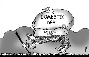 Pakistan Debt Cartoon
