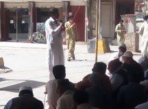 Quetta-Young Doctors & Paramedics Sit-in Protest 05