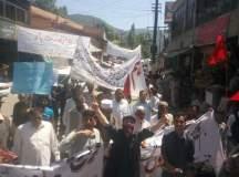 ایبٹ آباد: یوم مئی پر ریلی کا انعقاد