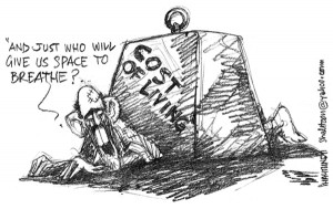 cost of living cartoon