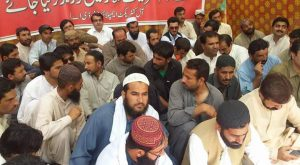 Balochistan Development Authority Protest Camp 02