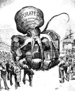 Corporate Greed Cartoon
