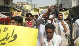 Kallur kot - Protest and Rally against loadshedding (6)