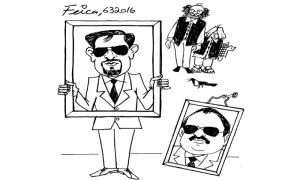 Mustafa Kamal Launching cartoon