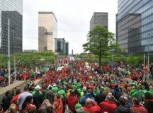 بیلجیم: اچانک ہونے والی ہڑتالوں نے حکومت کو ہلا کے رکھ دیا