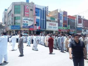Quetta-Bolan Medical College Students Protest in Solidarity with Young Doctors and Paramedical Staff 00