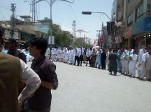 Quetta-Bolan Medical College Students Protest in Solidarity with Young Doctors and Paramedical Staff 03