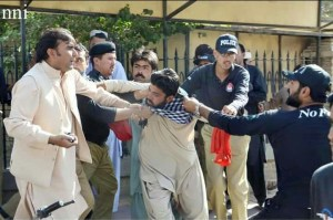 Quetta police oppression on BDA workers 02