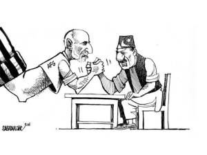 Tension Between Pakistan & Afghanistan Cartoon