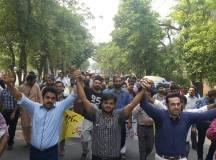 لاہور: جناح ہسپتال میں ینگ ڈاکٹرز کا احتجاجی مظاہرہ