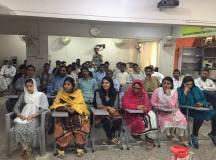 کراچی: محنت کش خواتین کے عالمی دن کے سلسلے میں تقریب کا انعقاد