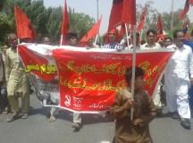 بہاولپور: عالمی یوم مزدور پر جلسہ اور احتجاجی ریلی