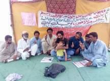 حب: کیڈبری مونڈ لیز پاکستان لمیٹڈ کے برطرف ملازمین کا بھوک ہڑتالی کیمپ 130 دن سے جاری