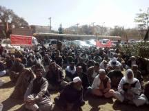 کوئٹہ: پی ڈبلیو ڈی ایمپلائز یونین کا احتجاجی کیمپ 65 ویں روز میں داخل مگر نااہل حکمرانوں کی مجرمانہ خاموشی برقرار!