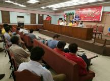 لاہور: ریڈ ورکرز فرنٹ کے زیر اہتمام یوم مئی کی تقریب