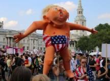 برطانیہ: ٹرمپ کی آمد کیخلاف تاریخ ساز احتجاج!