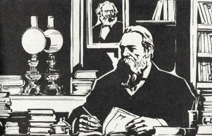 کارل مارکس کی وفات پر اینگلز کا خطاب!